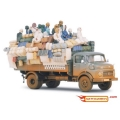 Full Loaded 1:43 Desert Truck MERCEDES-BENZ