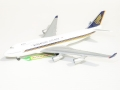 Herpa Wings Boeing 747-400 9v SPG Megatop SINGAPORE AIRLINES