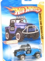 Hot Wheels 2010 Blue TOYOTA LAND CRUISER FJ40