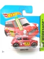 Hot Wheels 2013 Euro Card Red 77 Rallye MORRIS MINI