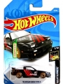 Hot Wheels 2018 Nightburnerz 96 NISSAN 180SX TYPE X