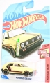Hot Wheels 2018 TAN VOLKSWAGEN GOLF MK2