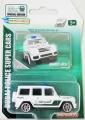 Majorette 2017 Dubai Police Super Cars BRABUS B63s