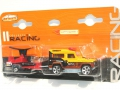 Majorette racing team LAND ROVER 90 & RADAR TRAILER