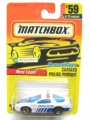 Matchbox 1997 Superfast CAMARO POLICE PURSUIT