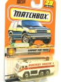 Matchbox 1999 AIRPORT FIRE TRUCK