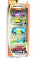 Matchbox 2000 Wings N Water 5-Pack Set, Incl. VW T1 & VW BEETLE