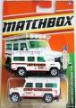 Matchbox 2010 Variant LAND ROVER DEFENDER 110