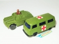 Matchbox Lesney 1976 VW DORMOBILE & 1973 STOAT ROLAMATICS