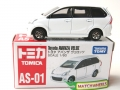 Tomica No. AS-01 TOYOTA AVANZA VELOZ