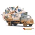 Full Loaded 1:43 Desert Truck MERCEDES-BENZ