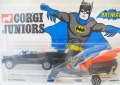 Corgi Juniors 1975 Vintage Batman Batmobile and Batboat