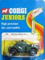 Corgi Juniors 1973 Army 84 DAIMLER SCOUT CAR