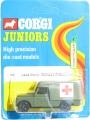 Corgi Juniors 1973 Army 79 LAND ROVER MILITARY AMBULANCE
