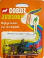 Corgi Juniors 1973 Army E96 MILITARY FIELD GUN AND FIGURES