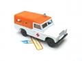 EFSI Orange Canopy Ambulance LAND ROVER SERIES 3