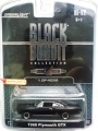 GreenLight Black Bandit 1968 PLYMOUTH GTX