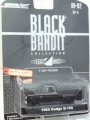 GreenLight 2008 Black Bandit 1965 DODGE D-100