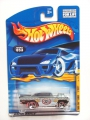 Hot Wheels 2001 Turbo TAXI '57 CHEVY