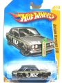 Hot Wheels 2009 New Models Black DATSUN BLUEBIRD 510
