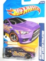 Hot Wheels 2012 MITSUBISHI 2008 LANCER EVOLUTION