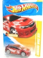 Hot Wheels 2012 Red SUBARU WRX STI