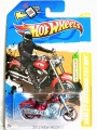 Hot Wheels 2012 Red HARLEY DAVIDSON FAT BOY