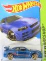 Hot Wheels 2013 NISSAN SKYLINE GT-R (R34)