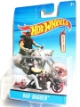 Hot Wheels 2014 BAD BAGGER With RIDER