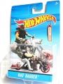 Hot Wheels 2014 BAD BAGGER With RIDER