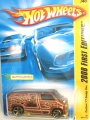 Hot Wheels 2008 Brown Custom '77 DODGE VAN