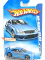Hot Wheels 2008 AMG-Mercedez CLK DTM (light blue)