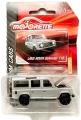 Majorette 2011 Silver LAND ROVER DEFENDER 110