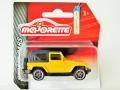 Majorette 2016 Street Cars Yellow JEEP WRANGLER RUBICON