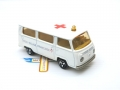 Majorette Cross Red Roof Ambulance VW T2 VOLKSWAGEN FOURGON