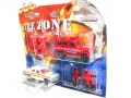Majorette Fire Zone Coffret JAGUAR XJ6, LAND ROVER & FIGURES