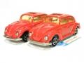Majorette No. 202 Lot Red VOLKSWAGEN 1302 VW COCINELLE