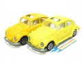 Majorette No. 203 Lot Yellow VOLKSWAGEN 1302 VW COCINELLE