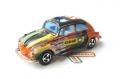 Majorette No. 202 CIBIE Black Orange VOLKSWAGEN 1302 VW BEETLE