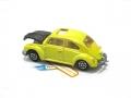 Majorette No. 202 Black Yellow VOLKSWAGEN 1302 VW BEETLE