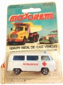 Majorette No. 244 Fourgon Ambulance VOLKSWAGON