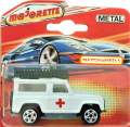 Majorette No. 266 Collector Red Cross LAND ROVER 90