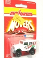 Majorette No. 277 Card TOYOTA 4x4 LAND CRUISER