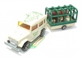 Majorette No. 277 African Safari TOYOTA 4x4 with TRAILER & LION