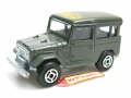 Majorette No. 277 Camel 4x4 Green TOYOTA LAND CRUISER