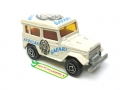 Majorette No. 277 African Safari Blue TOYOTA LAND CRUISER