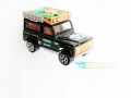 Majorette Nr. 266 Stainless Rallye Oil LAND ROVER 90 Custom