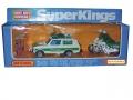 Matchbox 1979 SuperKings K99 Polizei Patrol RANGE ROVER & 2 MC