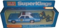 Matchbox 1979 Super Kings Police Car PLYMOUTH GF