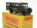 Matchbox 1983 ARMY SCHOOL BUS